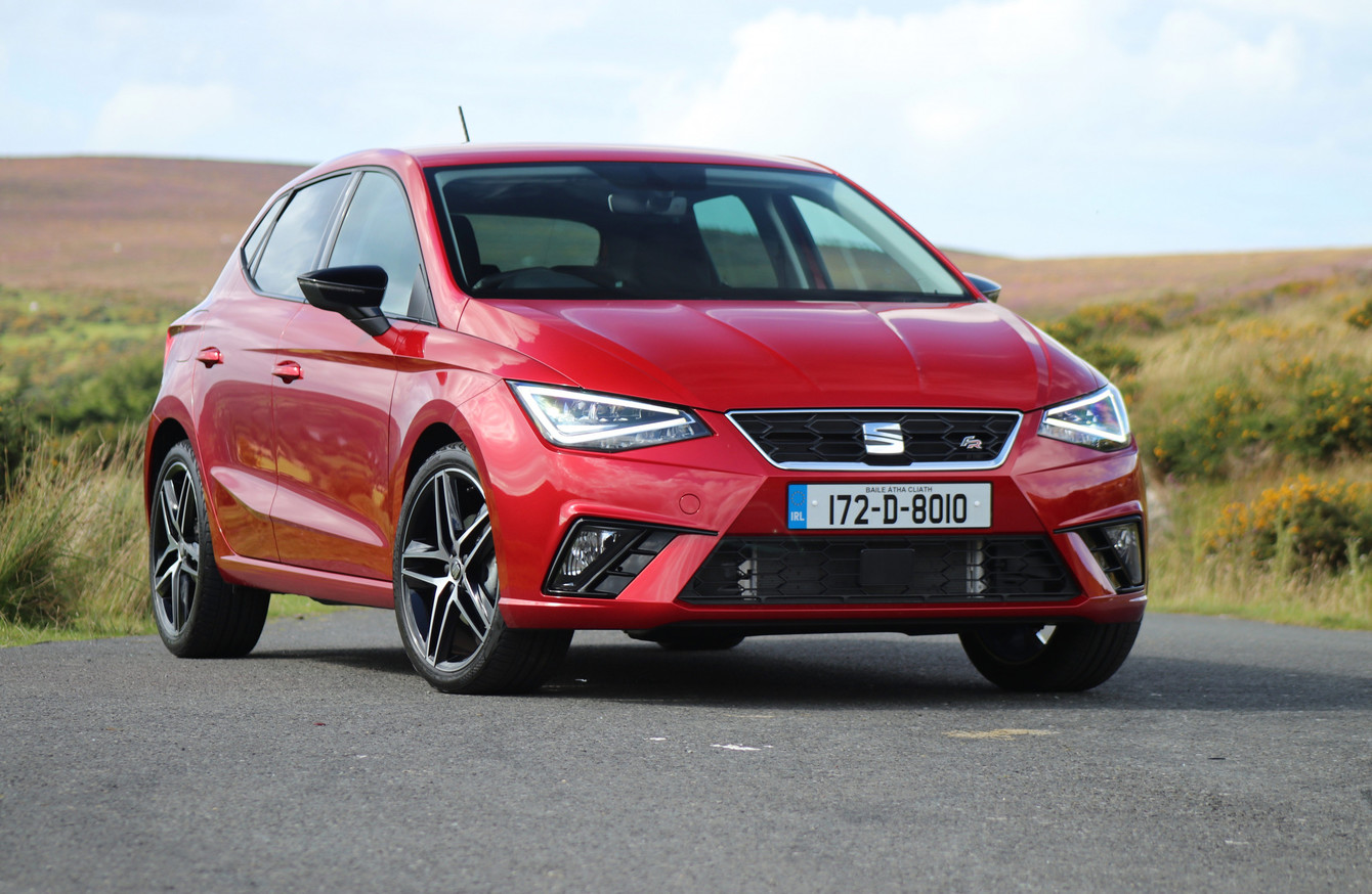 review the seat ibiza fr is fast fun and frankly hard to. Black Bedroom Furniture Sets. Home Design Ideas