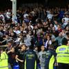 Crowd trouble sees first-half stoppage as Everton see off Hajduk Split in Europa League tie