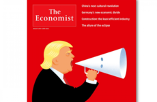 The Economist and New Yorker magazines publish Trump-KKK covers