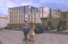 A row over a toolshed has stalled development of this massive Dublin student complex