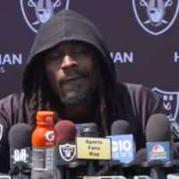 'Didn't they say elephants are scared of mouses' - Marshawn Lynch quiet on anthem sit down