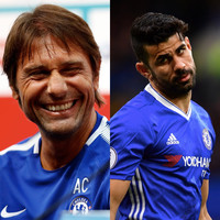 Antonio Conte was quizzed about Diego Costa and his response was pretty unexpected