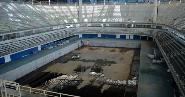 One year on from the Rio Olympics, the venues look like they've been abandoned for decades