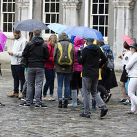 Rainfall warning for 15 counties as impact of hurricane set to be felt in Ireland