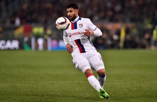 Lyon's Nabil Fekir has scored the best goal you'll see all day - with his weaker foot