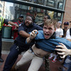 Multiple arrests as thousands join anti-racism march in Boston