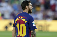 Barcelona honour terror attack victims in opening weekend win over Betis