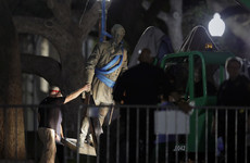 Confederate statues removed in dead of night from Texas campus