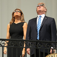 Pictures: The solar eclipse had all of America gazing upwards this evening