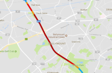 All lanes reopened on M50 following five car crash