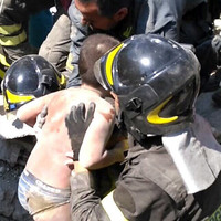The last child to be pulled from Italian earthquake rubble had just saved his younger brother
