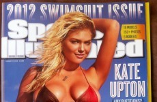 Kate Upton is on the cover of the Sports Illustrated swimsuit issue