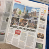 This newspaper's cheeky headline will delight any Simpsons fan