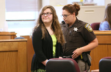 Girl pleads guilty to stabbing friend 19 times in attack inspired by 'Slender Man'