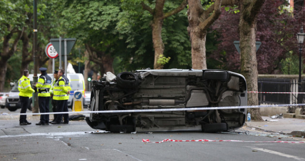 Six people hospitalised after car hits pedestrians in Dublin