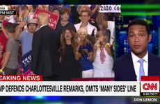 This CNN anchor's impassioned live response to President Trump's 'unhinged' speech is a must-watch