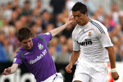 Bermingham marked Cristiano Ronaldo on his Real Madrid debut.