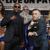 The 'Money Belt' and McGregor vows to 'f*** this boy up' but overall, a tame final press conference