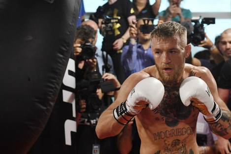 Against the odds: Conor McGregor.