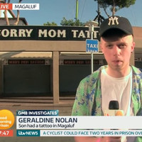 An Irish lad was on Good Morning Britain to tell his Mam about the 'Despacito' tattoo he got in Magaluf