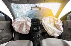 How can you cut the risk of being injured by your airbag?