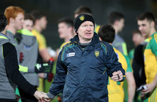 Ulster U21 and minor winning boss confirms he's in the running for the Donegal job
