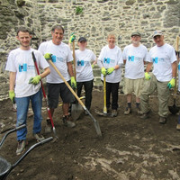 'We have members from 18 to 90': Locals dig in to help uncover three burials at Swords Castle