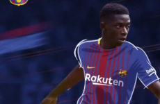 Barcelona announce €105m capture of French forward Ousmane Dembele