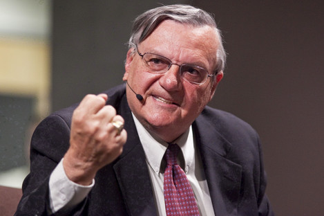 Joe Arpaio is a longtime supporter of Trump.