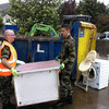 Minister says emergency agency should be set up as army pitches in for second day in Donegal