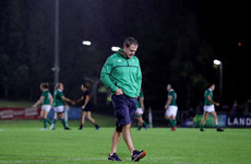Tom Tierney steps down as Ireland head coach following World Cup defeat to Wales