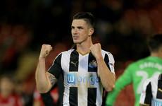 Irish international on target as Newcastle pick up first win of season