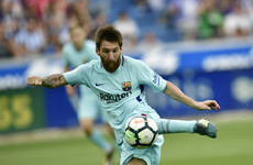 Missed penalty doesn't stop Messi from making amends in Barca win