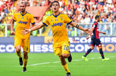 2-0 down after seven minutes, Argentine Paulo Dybala inspires stunning Juventus comeback