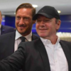 Frank Underwood took a break from political controversy to hang out with Francesco Totti today