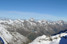 Five die after climbers roped together 2,000 metres high in the Alps suffer fall