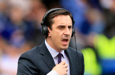 'I'd stick them all on the transfer list': Gary Neville rips into Arsenal after awful first-half