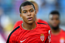 Kylian who? Mbappe watches from the bench as Monaco hit Marseille for 6
