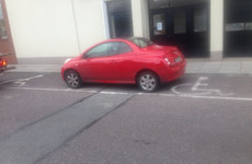Driver to be prosecuted for parking across two disabled bays in Cork