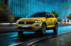 See the new Volkswagen T-Roc in action