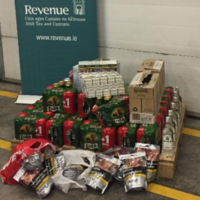 Over €19,000 worth of smuggled alcohol and cigarettes seized in Dublin