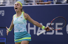 Britain's first female Wimbledon semi-finalist in 39 years suffers shock defeat at US Open