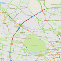 Traffic on M50 easing after southbound incidents cleared