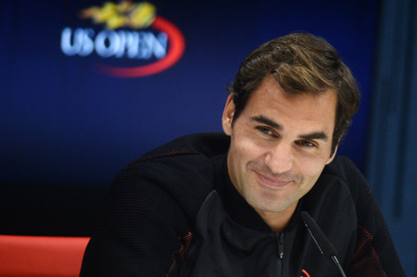 Roger Federer's press conference was an enjoyable affair yesterday.