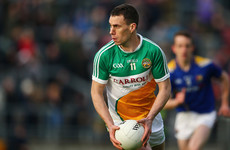 Offaly's leading forward McNamee calls time on his inter-county career after 15 years