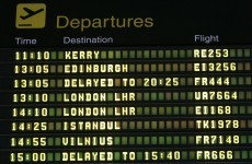 Traffic at Irish airports declined in January