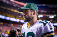 'He should be on a roster right now': Rodgers says Kaepernick is paying the price for his protest