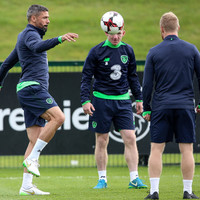 No McGoldrick but Walters included as Ireland squad fly out to Georgia