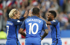 Lemar and Mbappe on target as France cruise to qualifying win over Netherlands