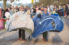 Poll: Have you left your tent behind after a festival?